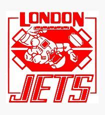 London Jets Zero G, red - Red Dwarf Photographic Print