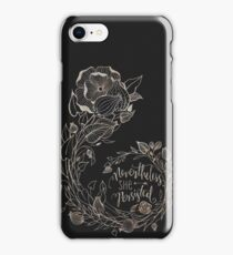 Nevertheless She Persisted, Gold iPhone Case/Skin