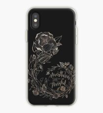 Nevertheless She Persisted, Gold iPhone Case