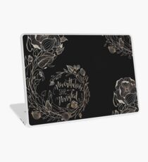 Nevertheless She Persisted, Gold Laptop Skin
