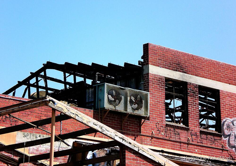Burnt Factory by Katherine Kakafikas