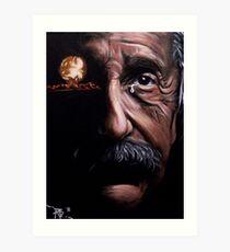 Tears of a Genius Art Print