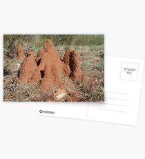 Tennant Creek, NT, Australia - Termite Castle 1 Postcards