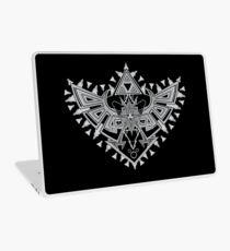 Heart Shield Triforce Silver 2/3 Laptop Skin
