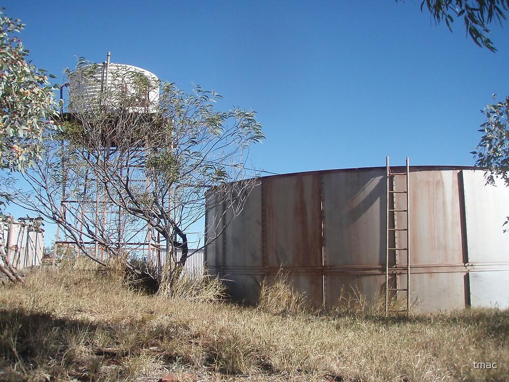 Tennant Creek, NT, Australia - Old Water Tanks by tmac