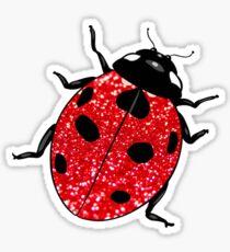 Glitter Ladybug Sticker