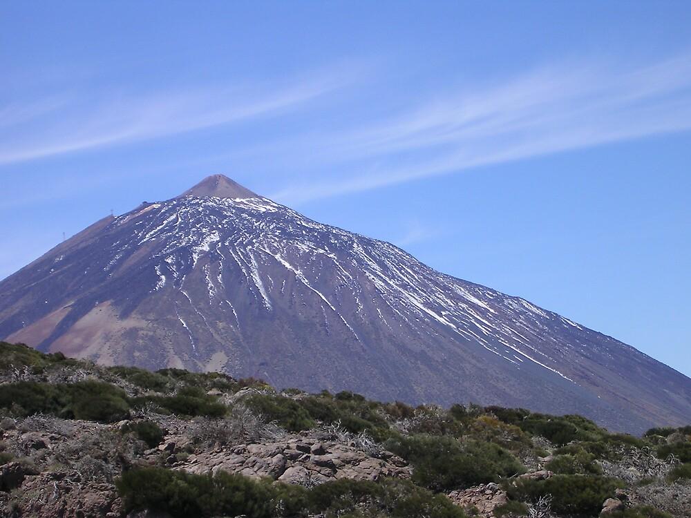 Mount Teide in Tenerife by Debby Allen