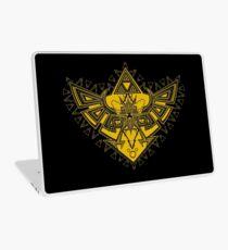 Heart Shield Triforce Gold 3/3 Laptop Skin