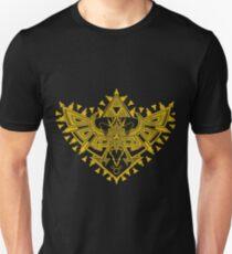 Heart Shield Triforce Gold 2/3 T-Shirt