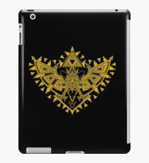 Heart Shield Triforce Gold 2/3 iPad Case/Skin