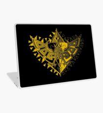 Heart Shield Triforce Gold 1/3 Laptop Skin