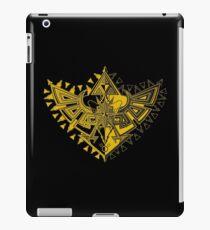 Heart Shield Triforce Gold 1/3 iPad Case/Skin
