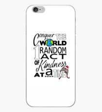 Acts of Kindness (all year round!) iPhone Case