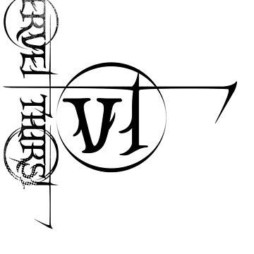 Black Vervet thirst Logo by vervetthirst