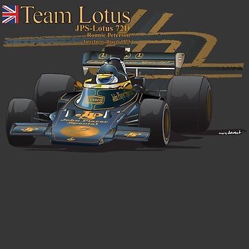 Ronnie Peterson JPS Team Lotus by DaveCT