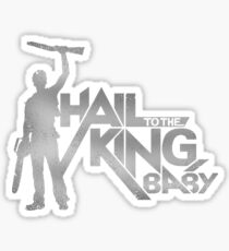 Hail to the King Baby Sticker
