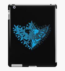 Heart Shield Triforce Cyan 1/3  iPad Case/Skin
