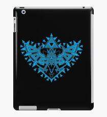 Heart Shield Triforce Cyan 2/3 iPad Case/Skin
