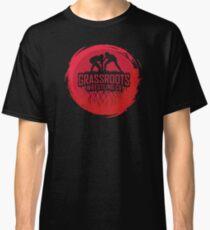 GrassRoots Wrestling Co. Art Logo Classic T-Shirt