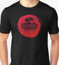 GrassRoots Wrestling Co. Art Logo T-Shirt