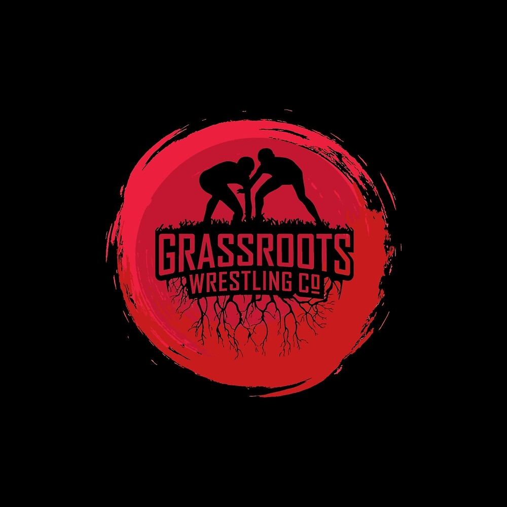 GrassRoots Wrestling Co. Art Logo by GrassRootDesign