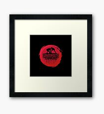 GrassRoots Wrestling Co. Art Logo Framed Print
