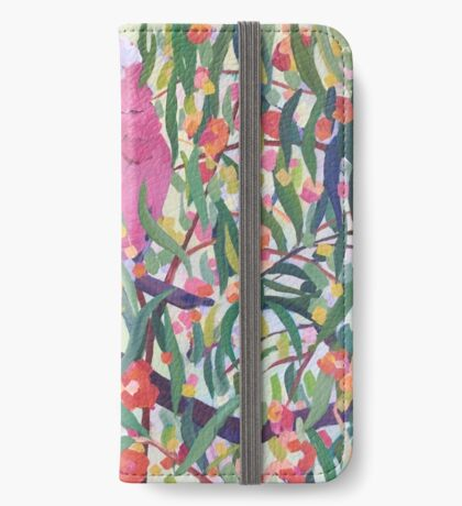 Galahs and Blossom iPhone Wallet