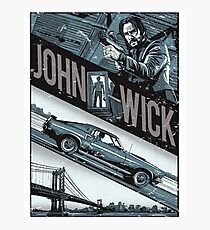 john wick chapter 2 movie Photographic Print