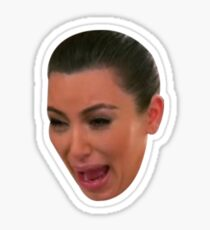 Kim K Crying Sticker