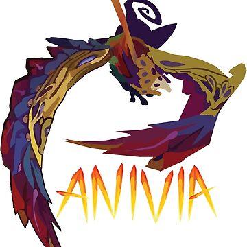 Festival Queen Anivia by realdradex