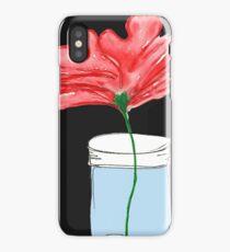single flower iPhone Case