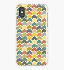 baby ikat arrows cream iPhone Case