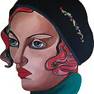 Art Deco Gloria by Giselle Luske