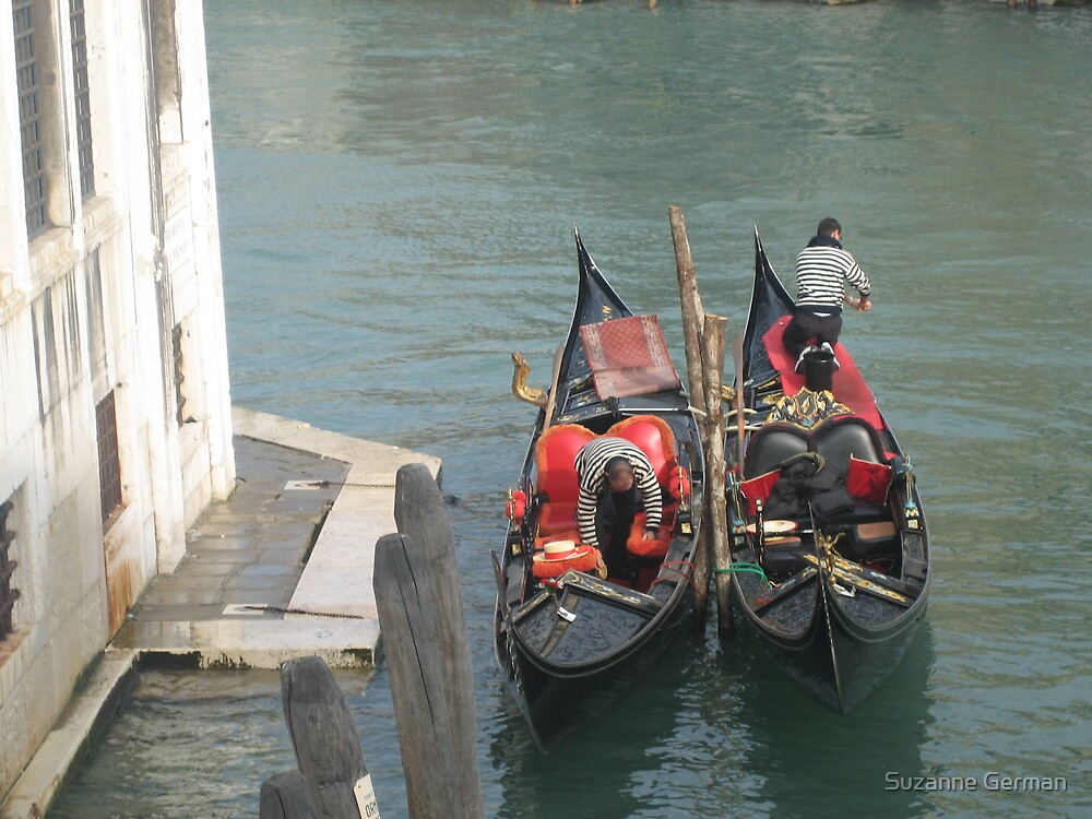 two gondolas by Suzanne German