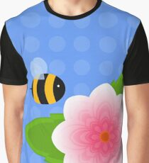 Bumble Blossom Graphic T-Shirt