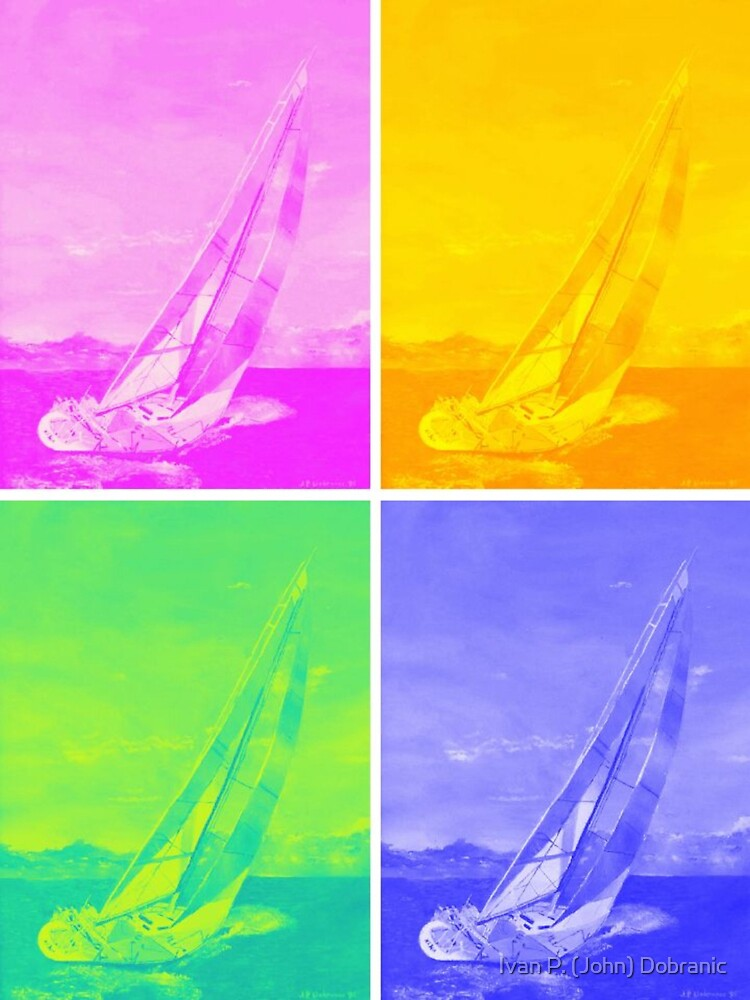 Sailing in Colors by Ivan P. (John) Dobranic