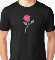 Stain Glass Rose - Beauty & the Beast T-Shirt