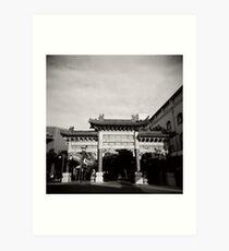China Town - Brisbane Art Print