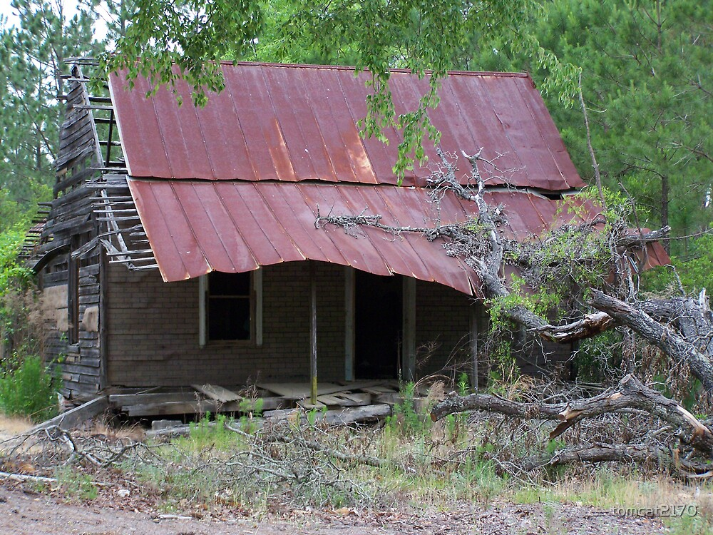 old abandoned house by tomcat2170