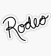 Rodeo Sticker