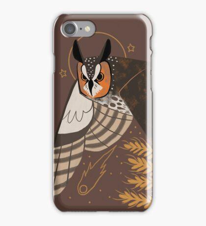 Familiar - Long Eared Owl iPhone Case/Skin