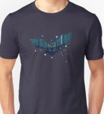 Snowy Winter Forest and Owl Unisex T-Shirt