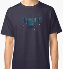 Snowy Winter Forest and Owl 2 Classic T-Shirt