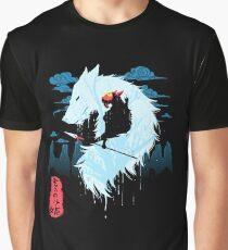 Princess Mononoke Hime Graphic T-Shirt