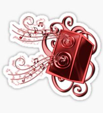 Glitter Music [3] Sticker
