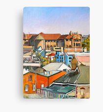 Urban Scape 3 Canvas Print