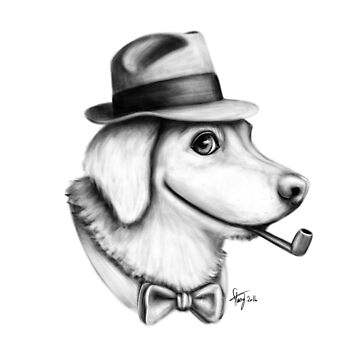 Fedora Dog by Stack
