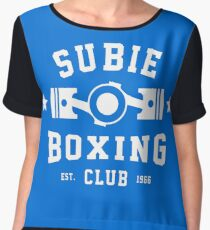 SUBIE BOXING CLUB Chiffon Top