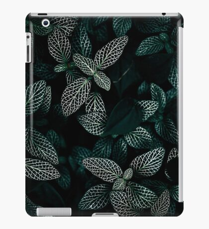 Dark Leaves 3 iPad Case/Skin