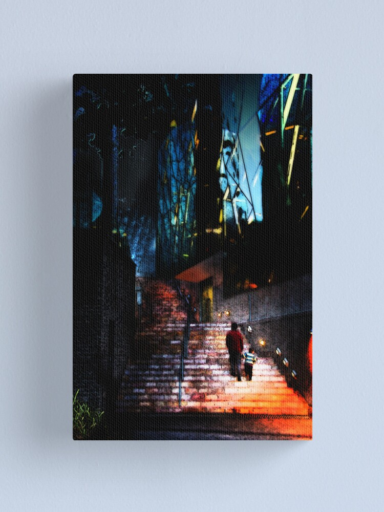 Alternate view of Stairs Canvas Print